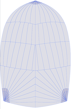 Panel Map for Maxi1300 Spinnaker